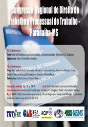 Congresso Direito do Trabalho dias 15 e 16 de Fevereiro