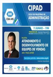 acontecerá hoje na acip o CIPAD - Ciclo de Palestras de Administração